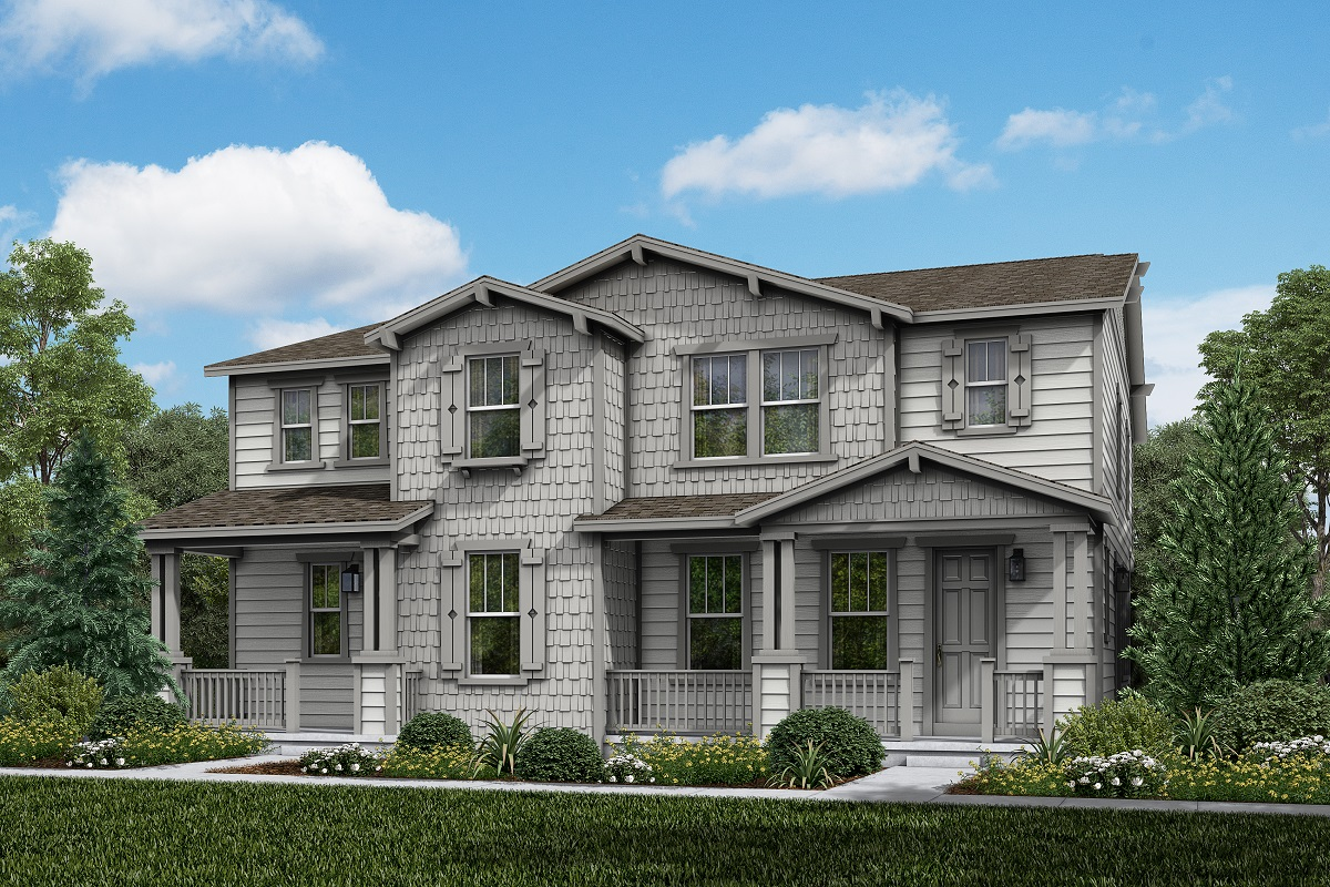 New Homes in Parker, CO - Plan 1885 & Plan 1754 Elevation 12A
