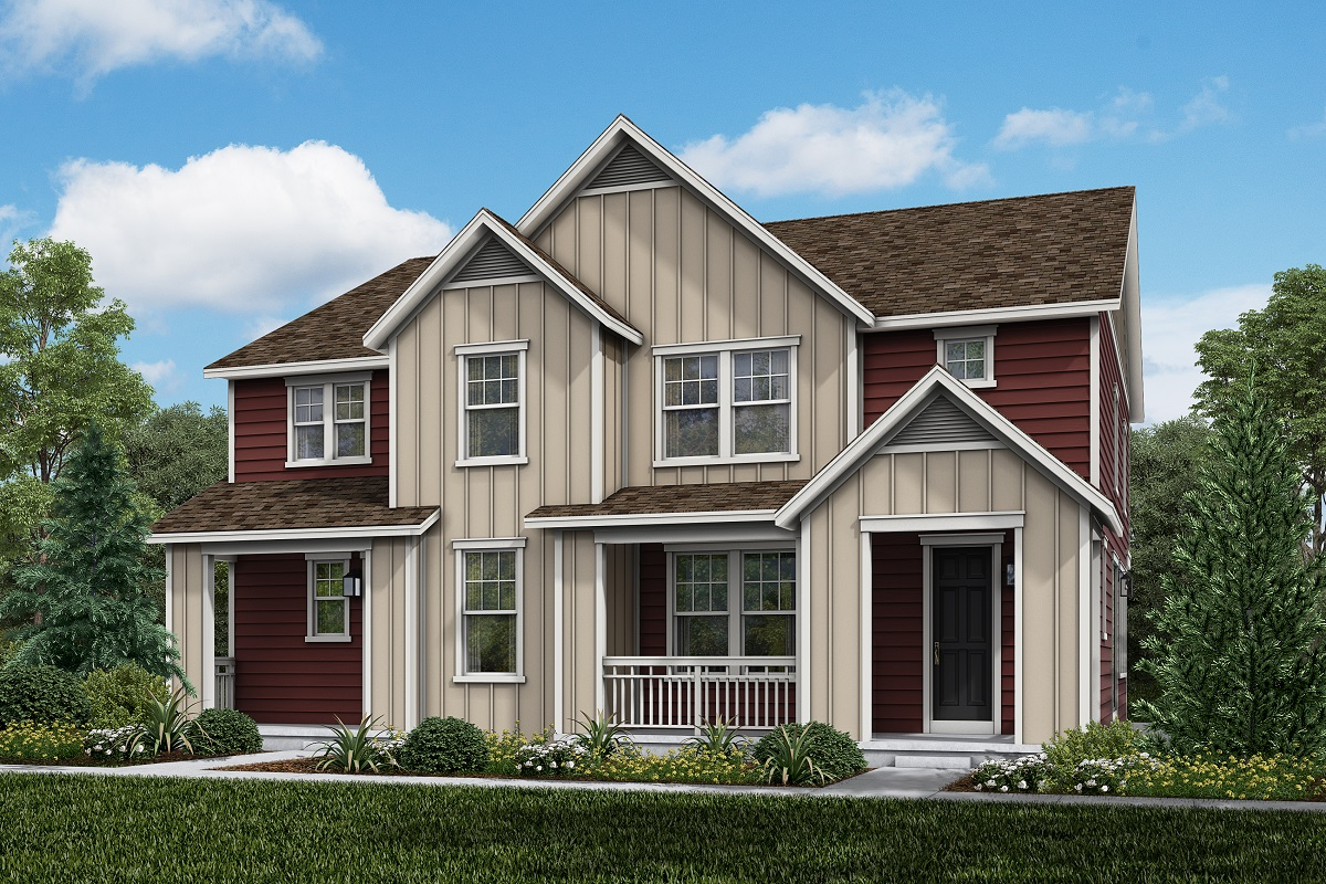 New Homes in Parker, CO - Plan 1885 & Plan 1754 Elevation 12B