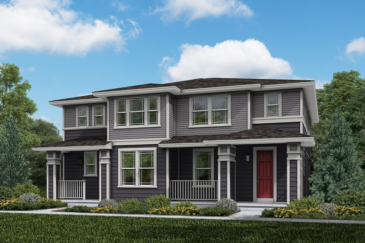 New Homes in Parker, CO - Plan 1885 & Plan 1754 Elevation 12C