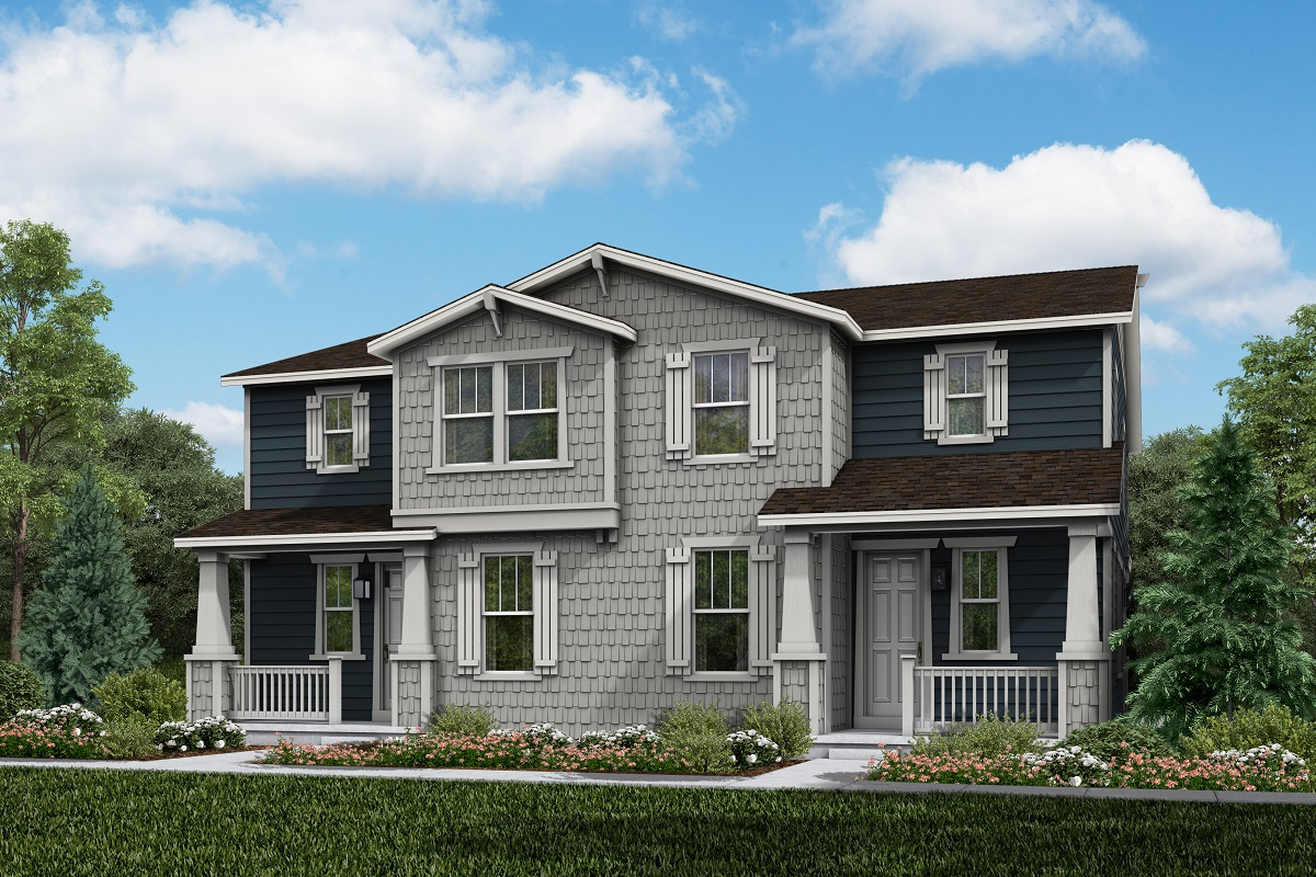 New Homes in Parker, CO - Plan 1885 & Plan 1885 Elevation 13A
