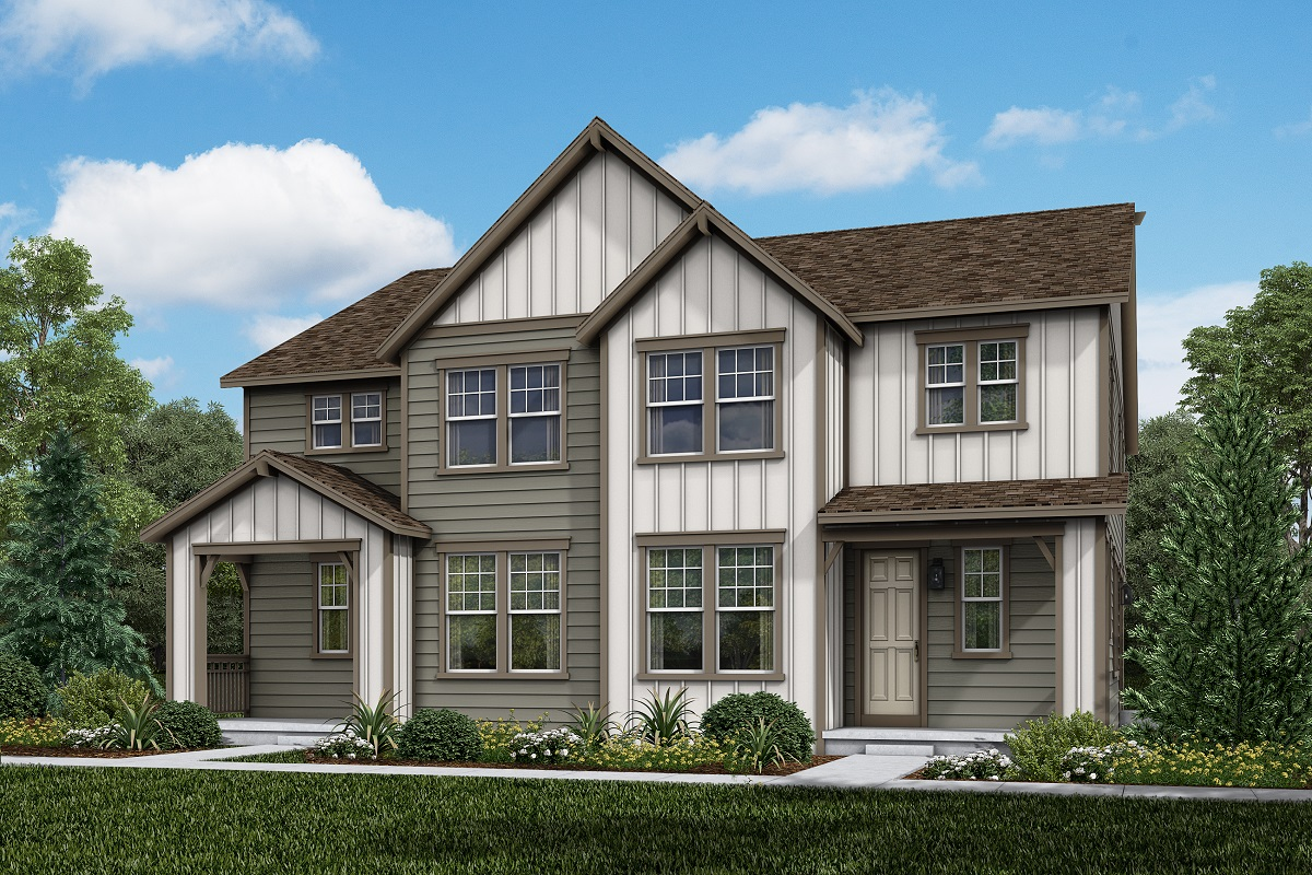 New Homes in Parker, CO - Plan 1885 & Plan 1885 Elevation 13B