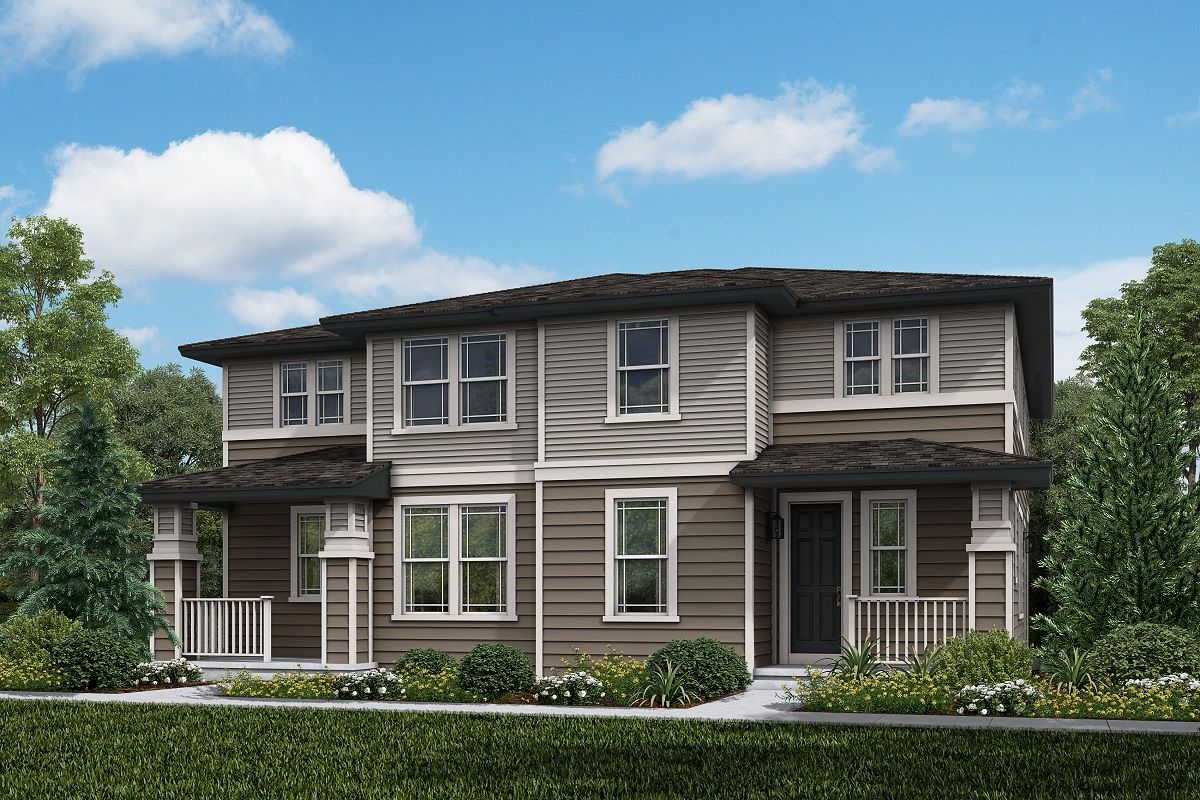 New Homes in Parker, CO - Plan 1885 & Plan 1885 Elevation 13C