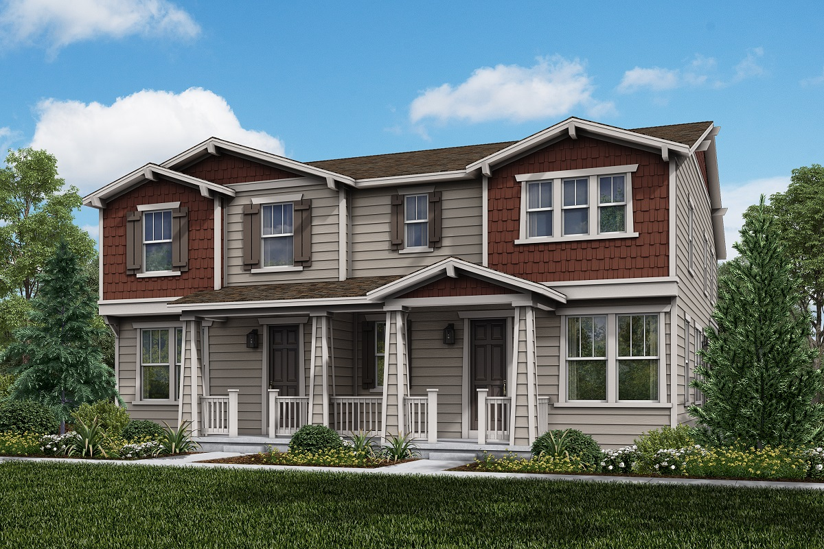 New Homes in Parker, CO - Plan 1963 & Plan 1671 Elevation 15A