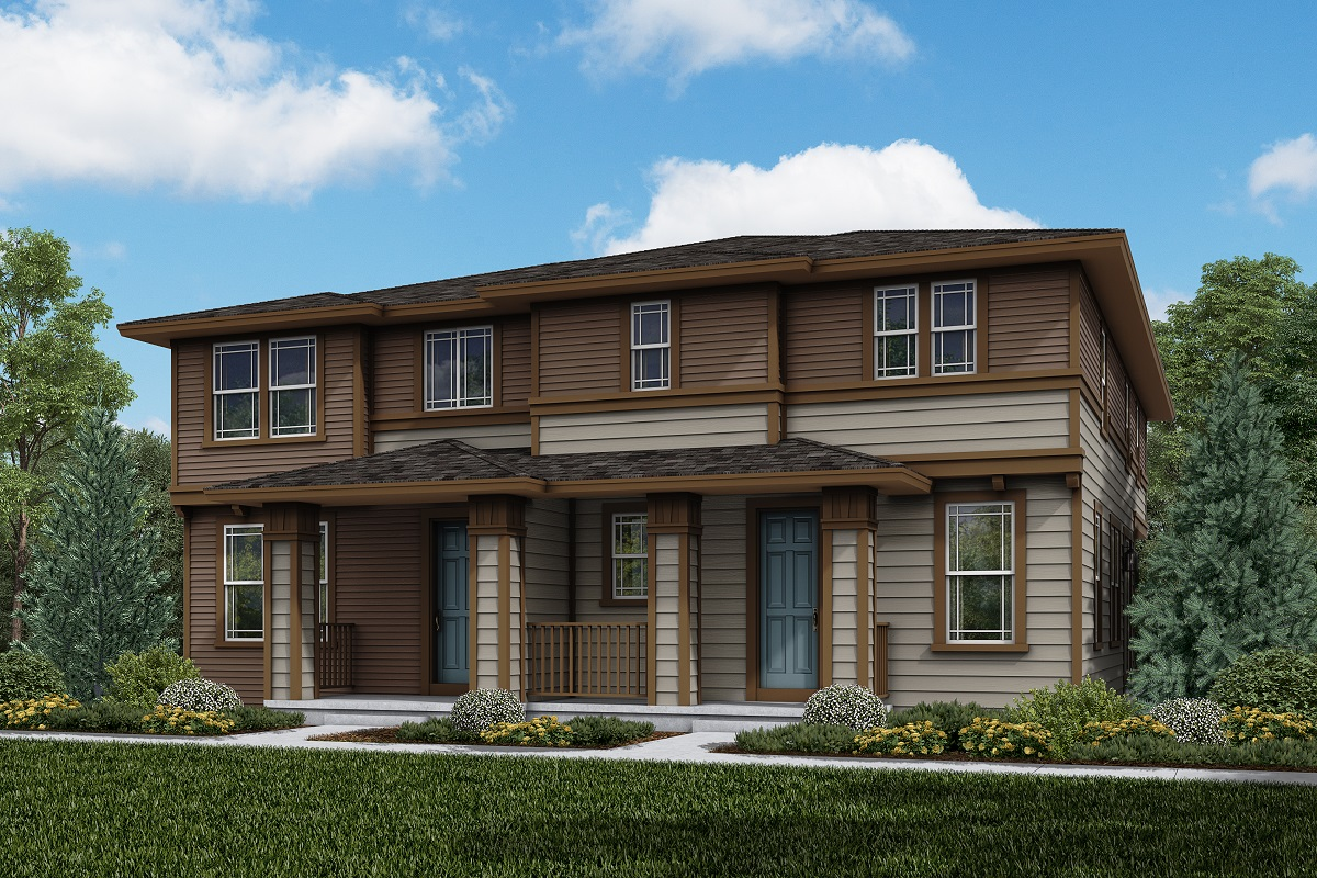 New Homes in Parker, CO - Plan 1963 & Plan 1671 Elevation 15C