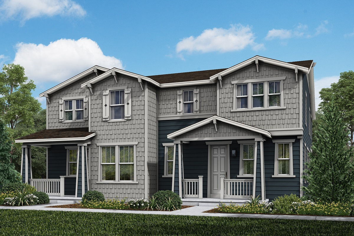 New Homes in Parker, CO - Plan 1963 & Plan 1885 Elevation 17A