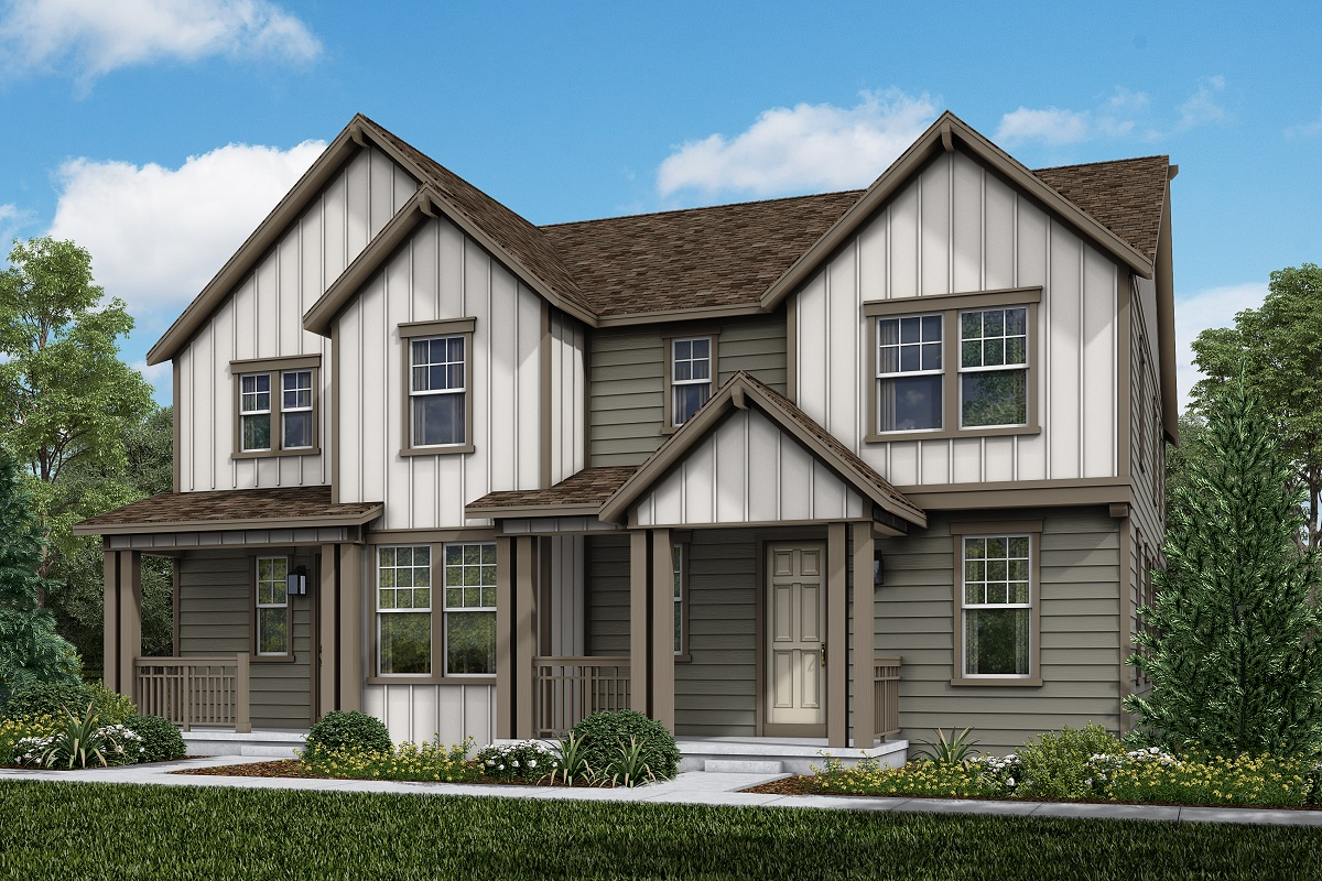 New Homes in Parker, CO - Plan 1963 & Plan 1885 Elevation 17B