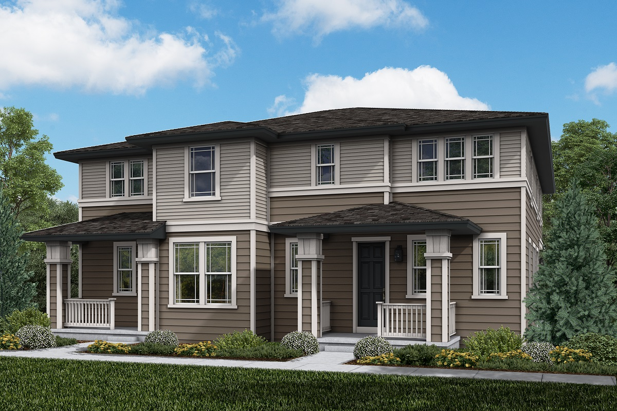 New Homes in Parker, CO - Plan 1963 & Plan 1885 Elevation 17C