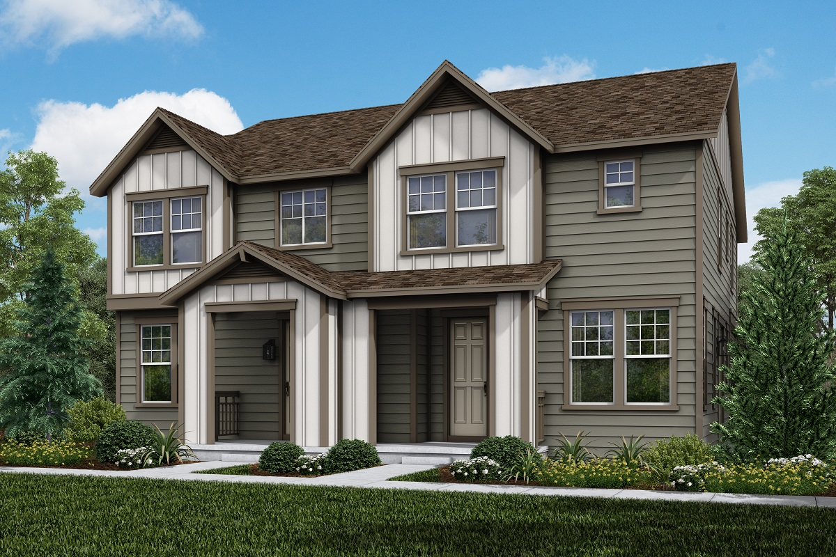 New Homes in Parker, CO - Plan 1671 & Plan 1468 Elevation 1B