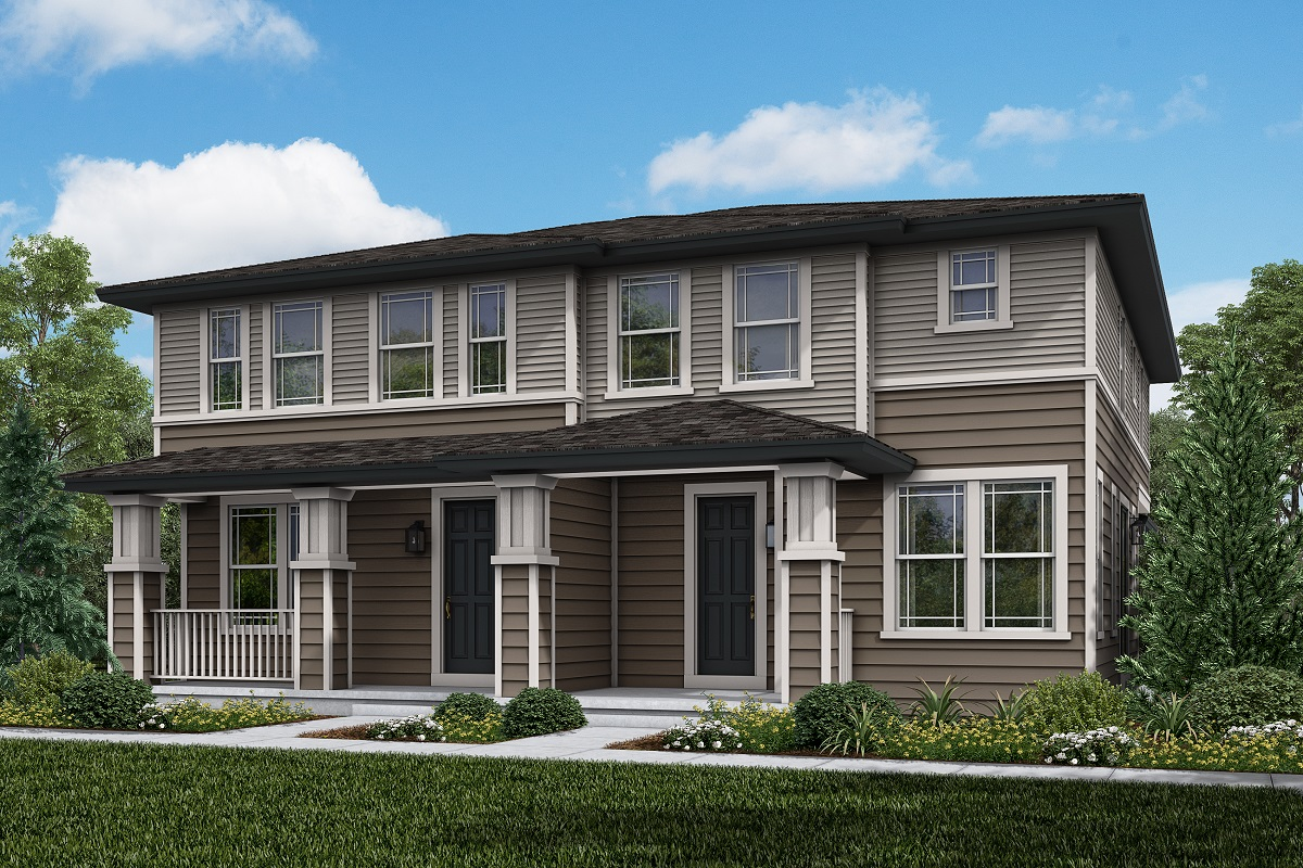 New Homes in Parker, CO - Plan 1671 & Plan 1468 Elevation 1C