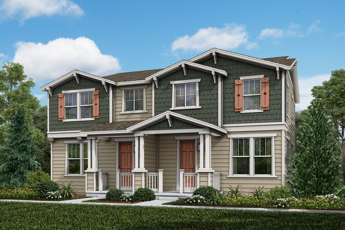 New Homes in Parker, CO - Plan 1671 & 1671 Elevation 2A