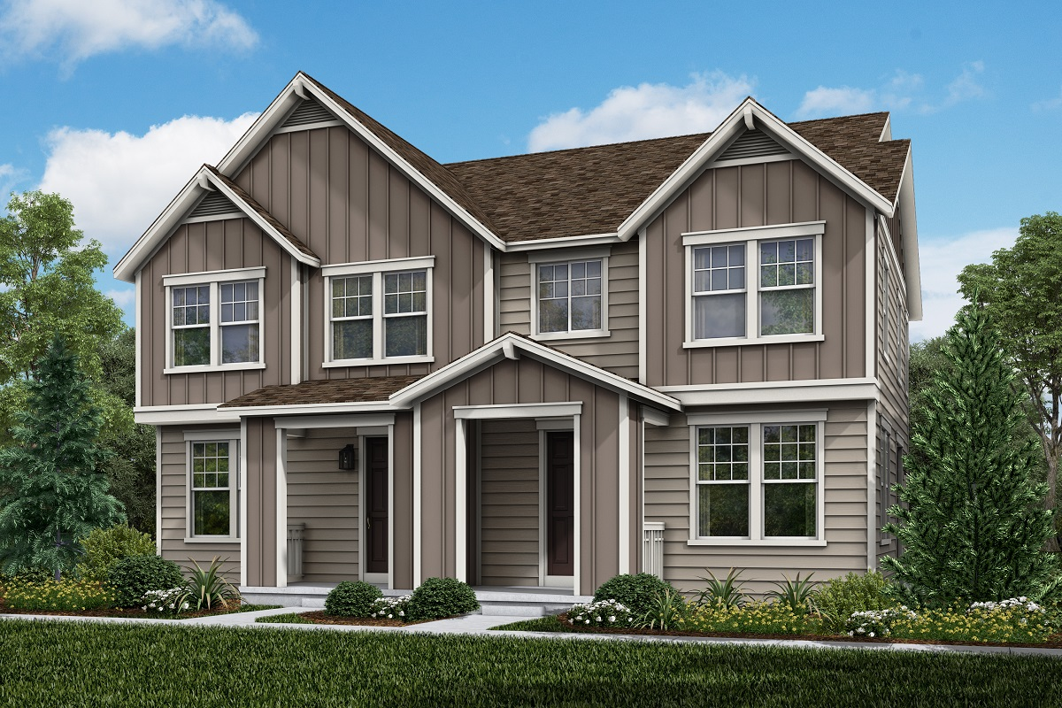 New Homes in Parker, CO - Plan 1671 & Plan 1671 Elevation 2B