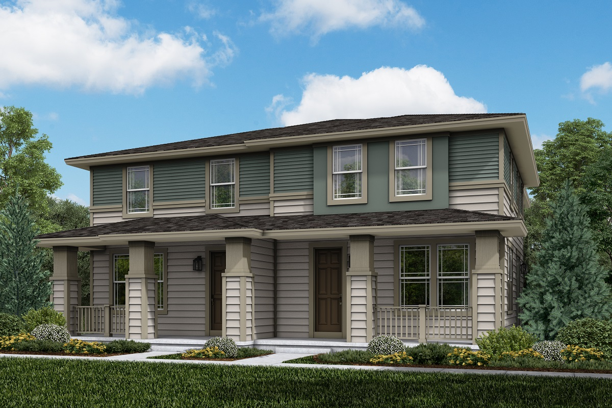 New Homes in Parker, CO - Plan 1671 & 1671 Elevation 2C
