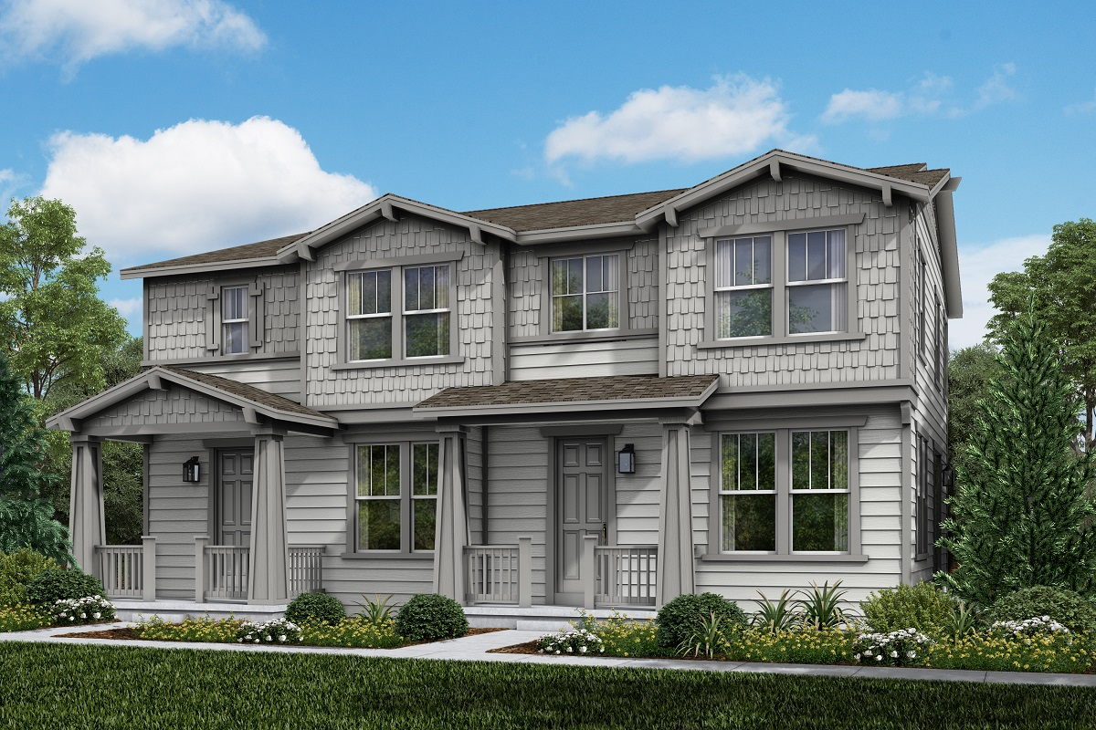 New Homes in Parker, CO - Plan 1754 & Plan 1671 Elevation 4A