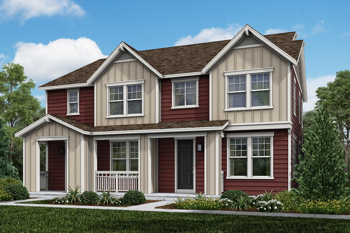 New Homes in Parker, CO - Plan 1754 & Plan 1671 Elevation 4B