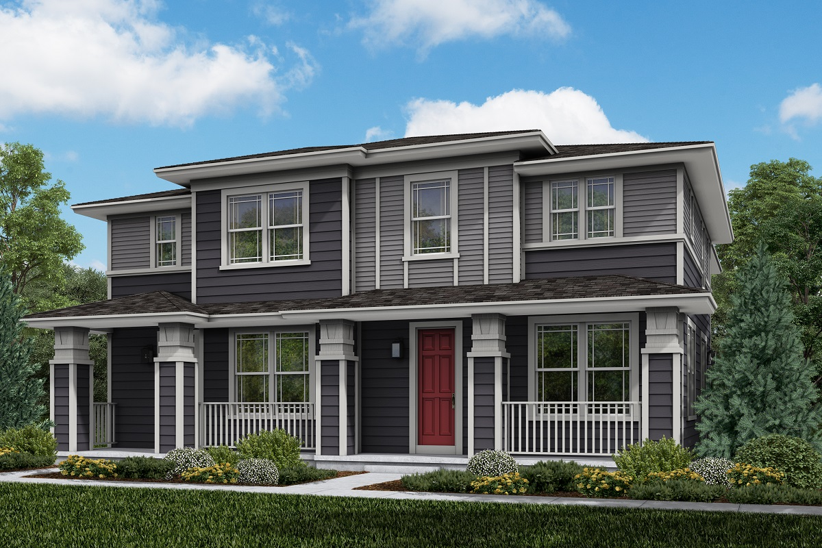 New Homes in Parker, CO - Plan 1754 & Plan 1671 Elevation 4C