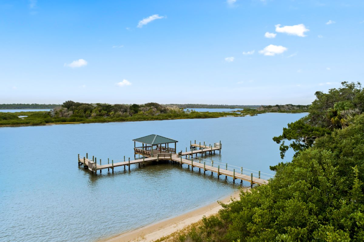 New Homes in Palm Coast, FL - Las Casitas Kayak Launch