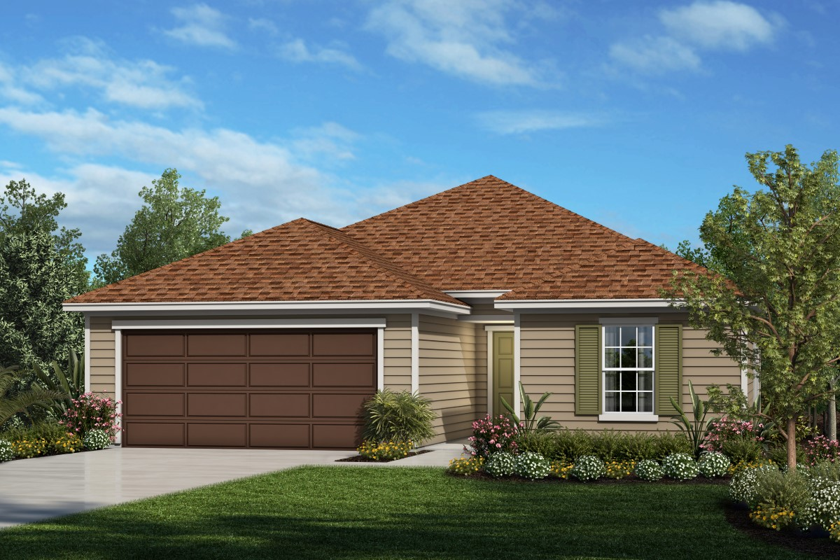 New Homes in Palm Coast, FL - Elevation L