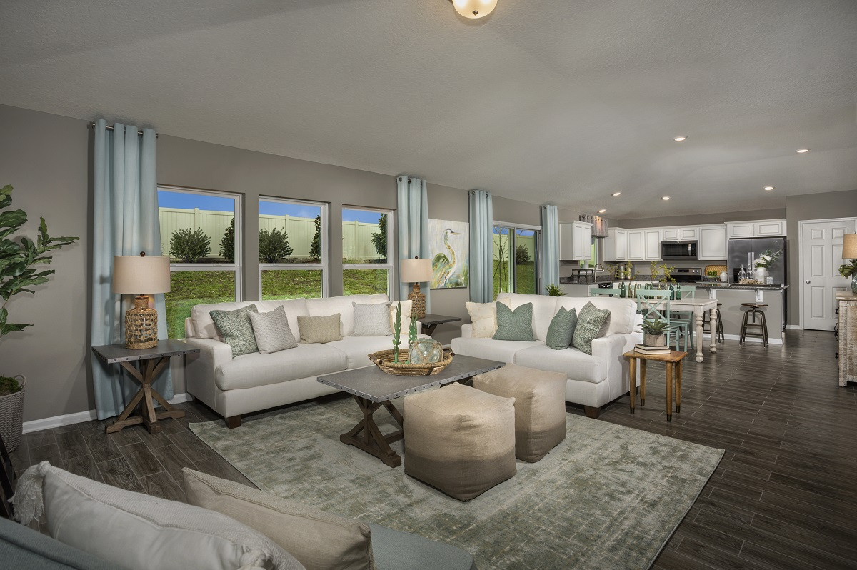 New Homes in Jacksonville, FL - Abbot Cove The Sullivan Great Room