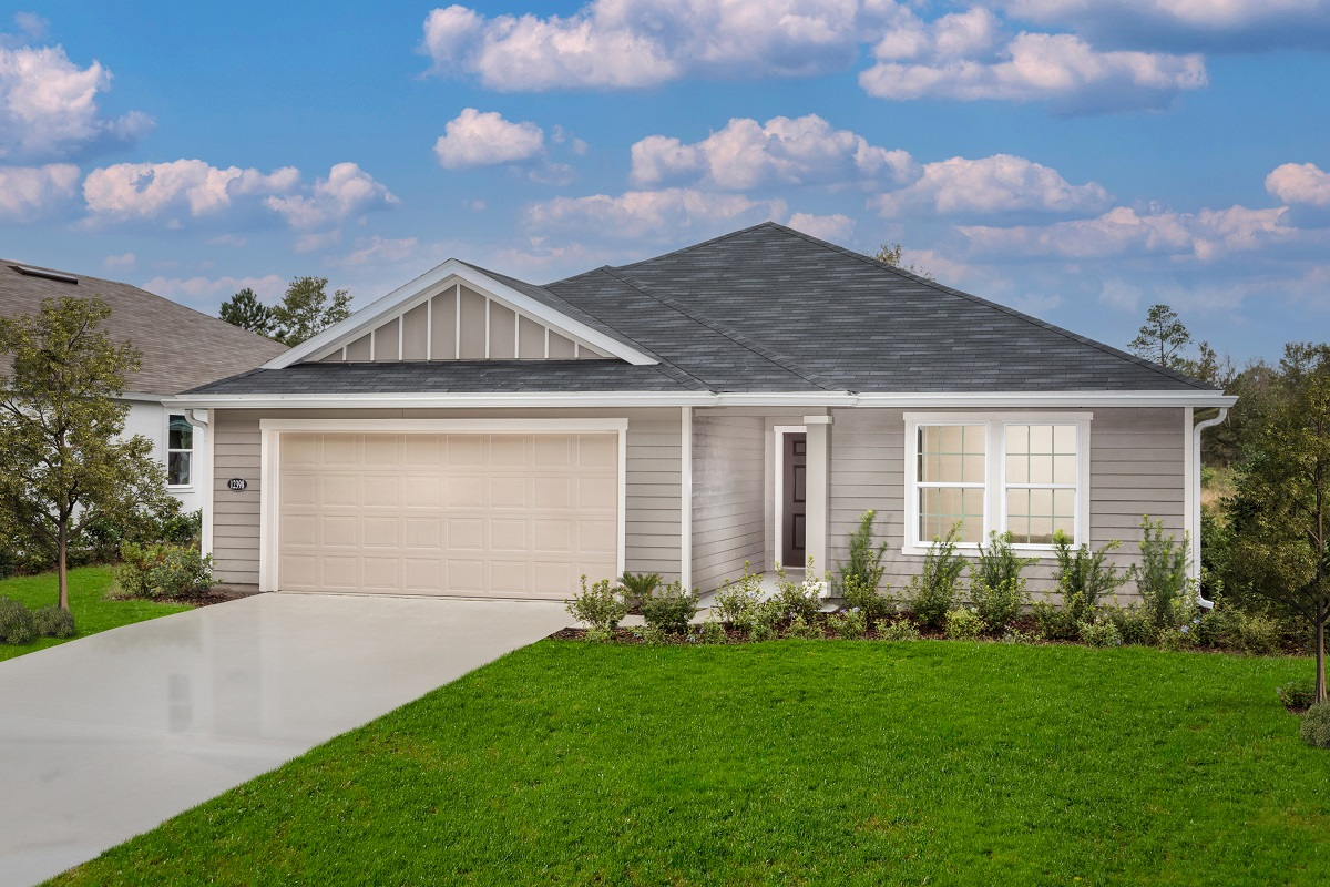 New Homes in Jacksonville, FL - Plan 1707 Modeled