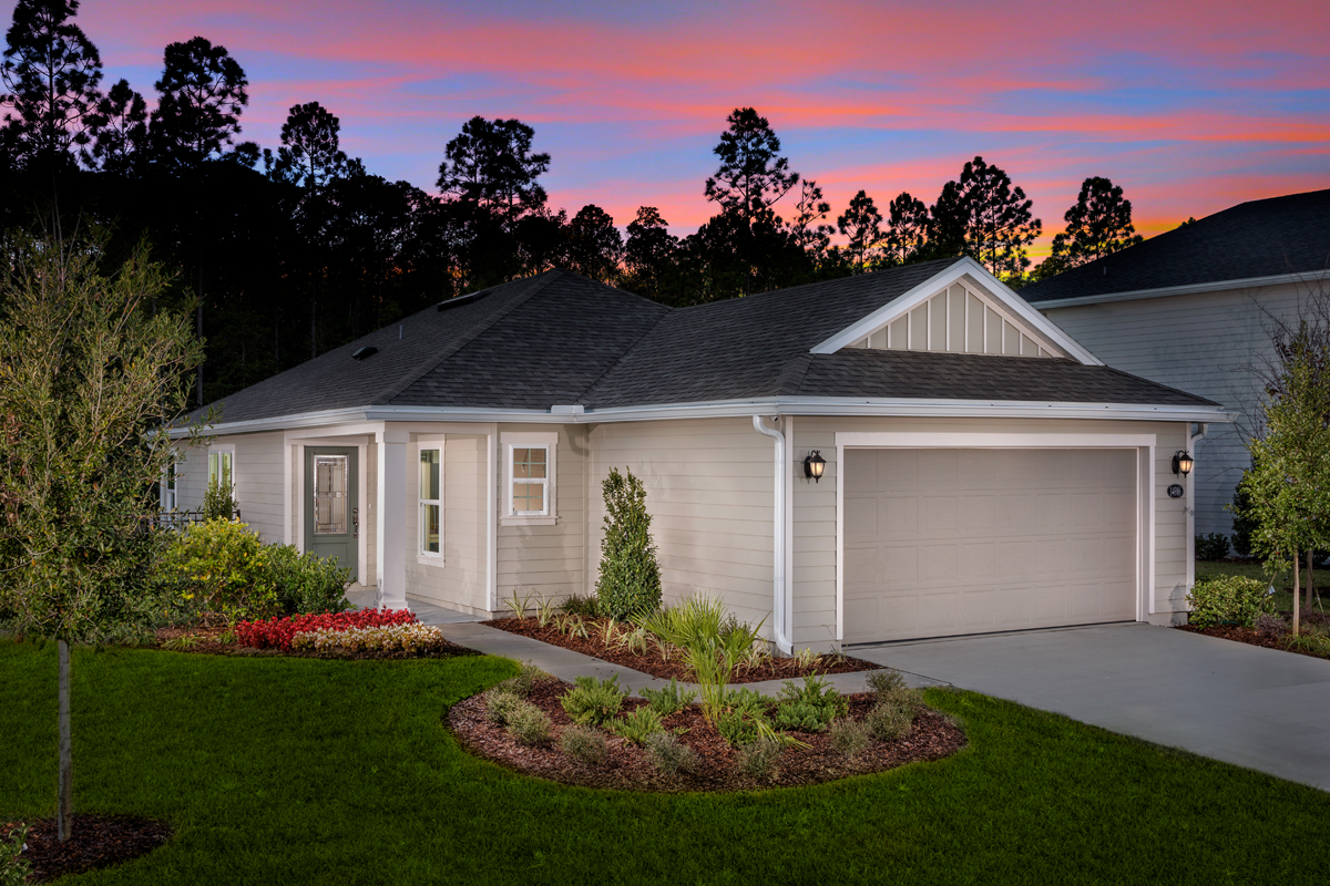 New Homes in Jacksonville, FL - Bartram Creek - Classic Series The Darby