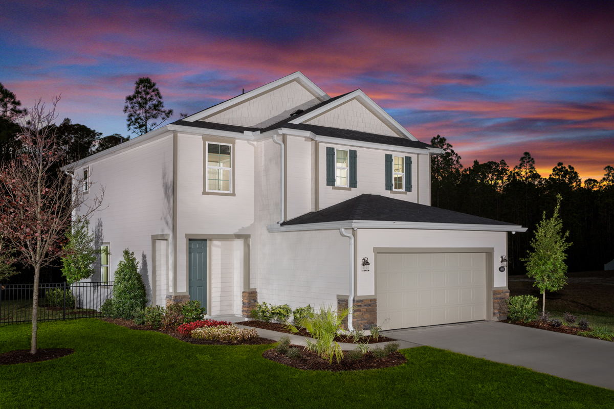 New Homes in Jacksonville, FL - Bartram Creek - Classic Series The Savannah