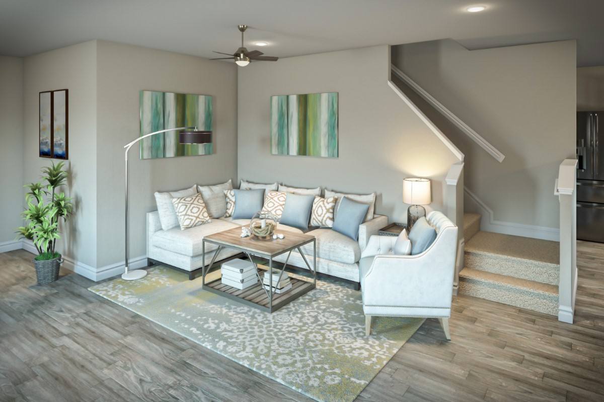 New Homes in Jacksonville, FL - Bartram Creek - Classic Series The Fulton Virtual Model Greatroom