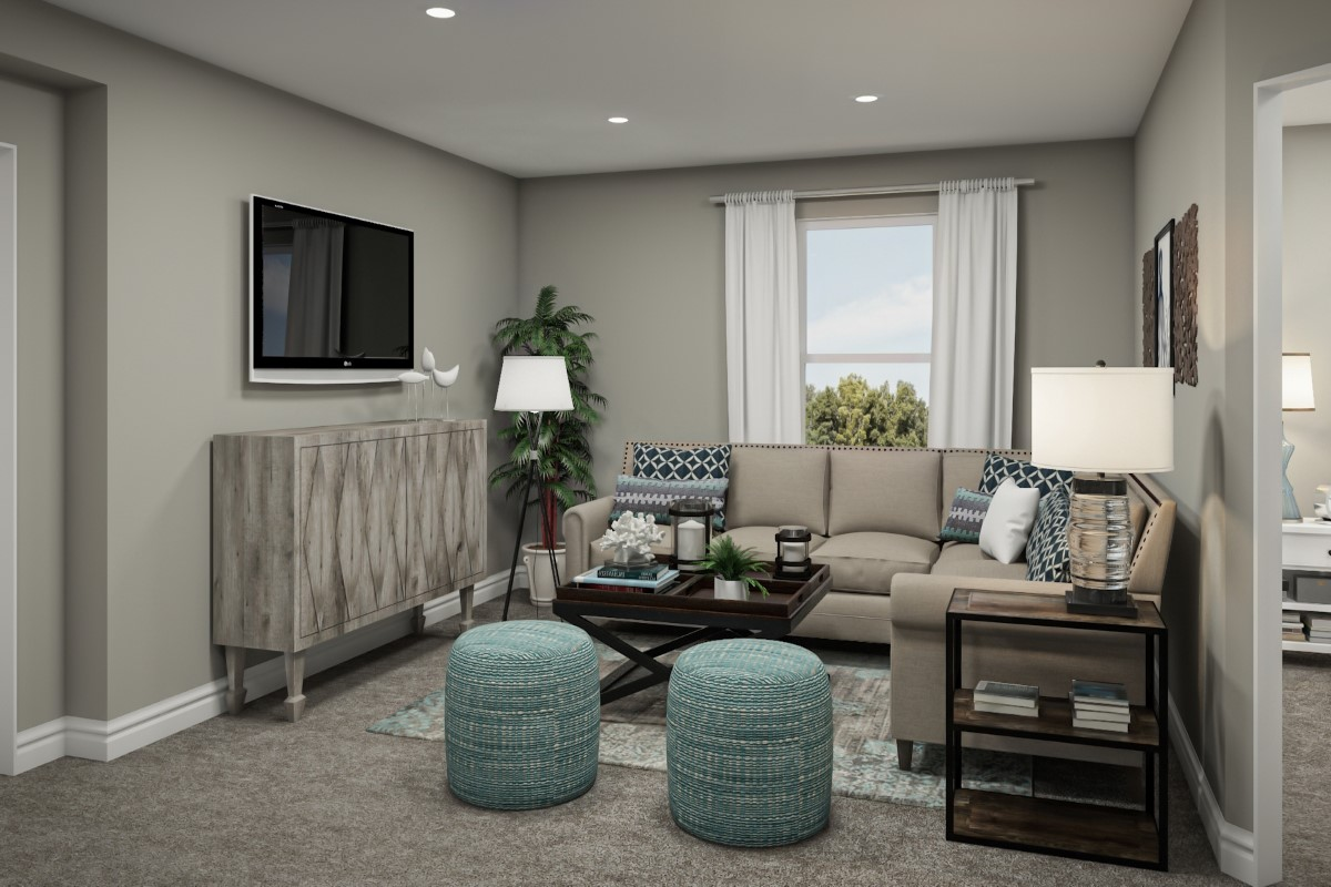 New Homes in Jacksonville, FL - Bartram Creek - Classic Series The Fulton Virtual Model Loft