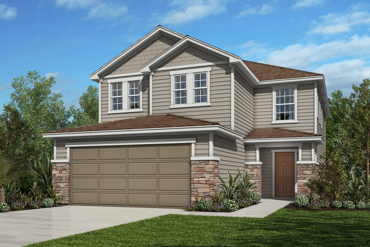 New Homes in Jacksonville, FL - Bartram Creek - Classic Series Elevation N