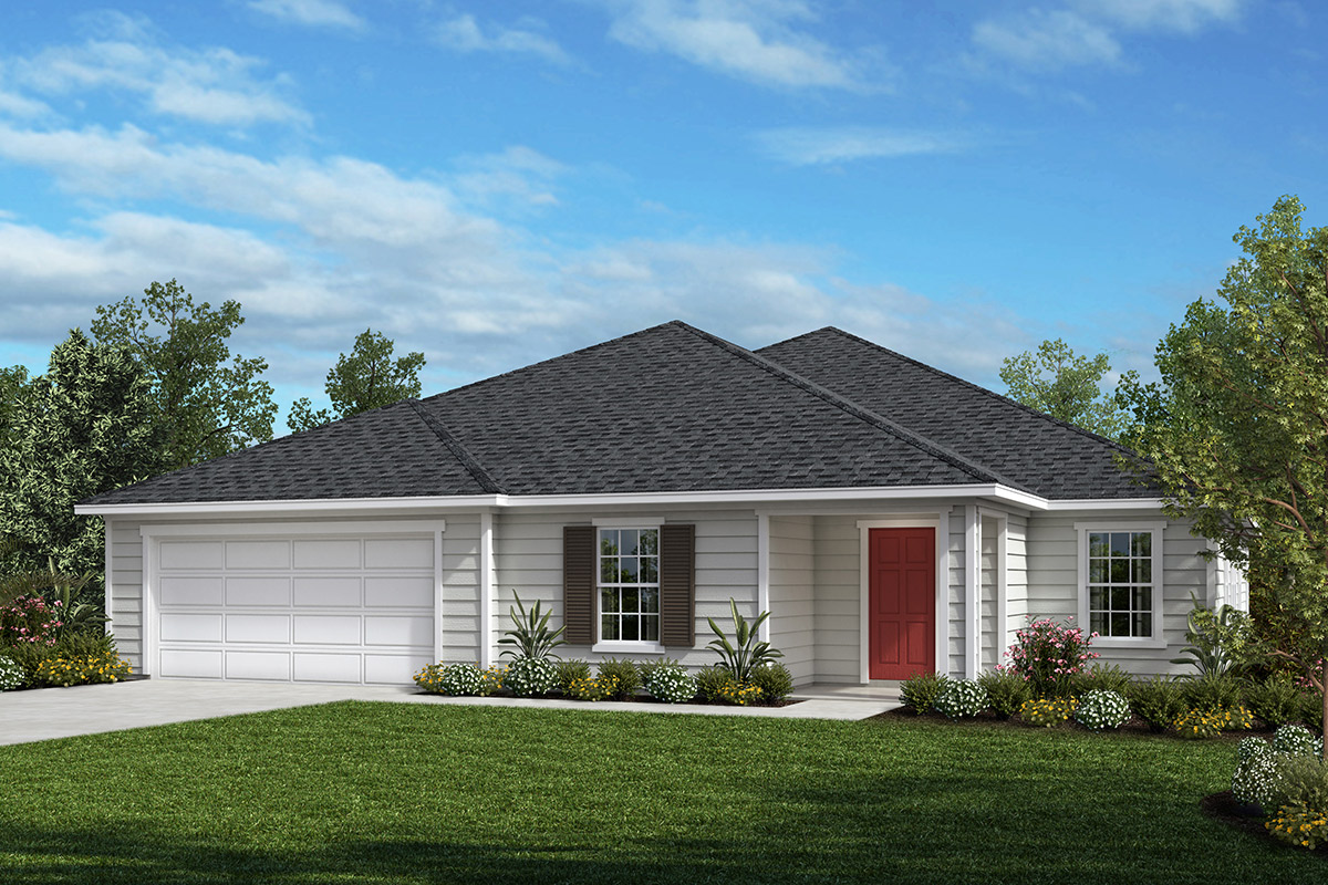 New Homes in Jacksonville, FL - Elevation L