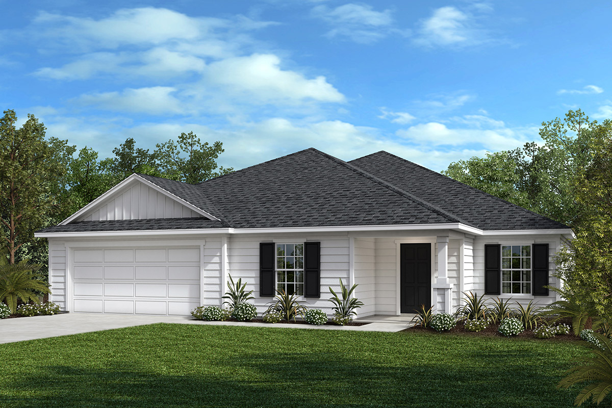 New Homes in Jacksonville, FL - Bartram Creek - Executive Series Plan 2659 Elevation M
