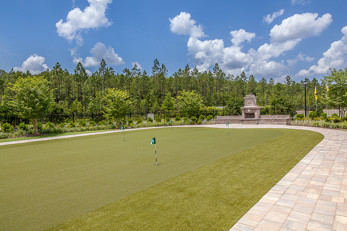 New Homes in Jacksonville, FL - Bartram Creek - Executive Series Mini Golf Course