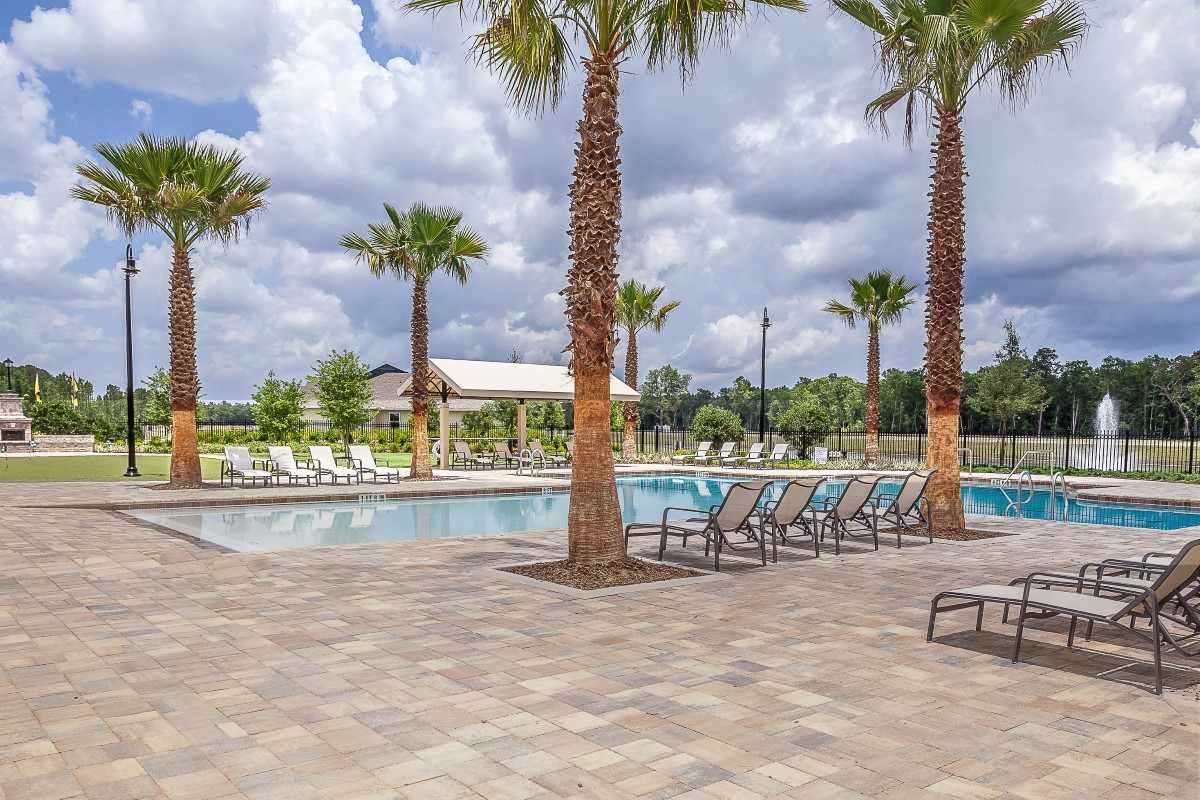 New Homes in Jacksonville, FL - Bartram Creek - Classic Series Community Pool