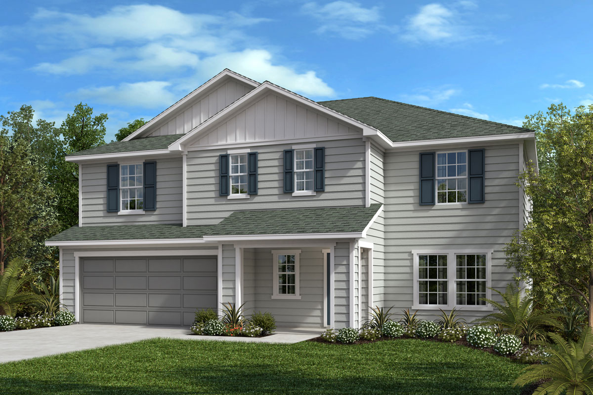 New Homes in Jacksonville, FL - Bartram Creek - Executive Series The Hamilton Elevation M