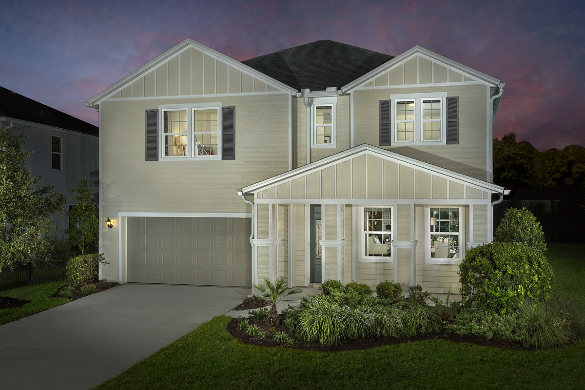 Bartram Creek Executive Series A New Home Community By