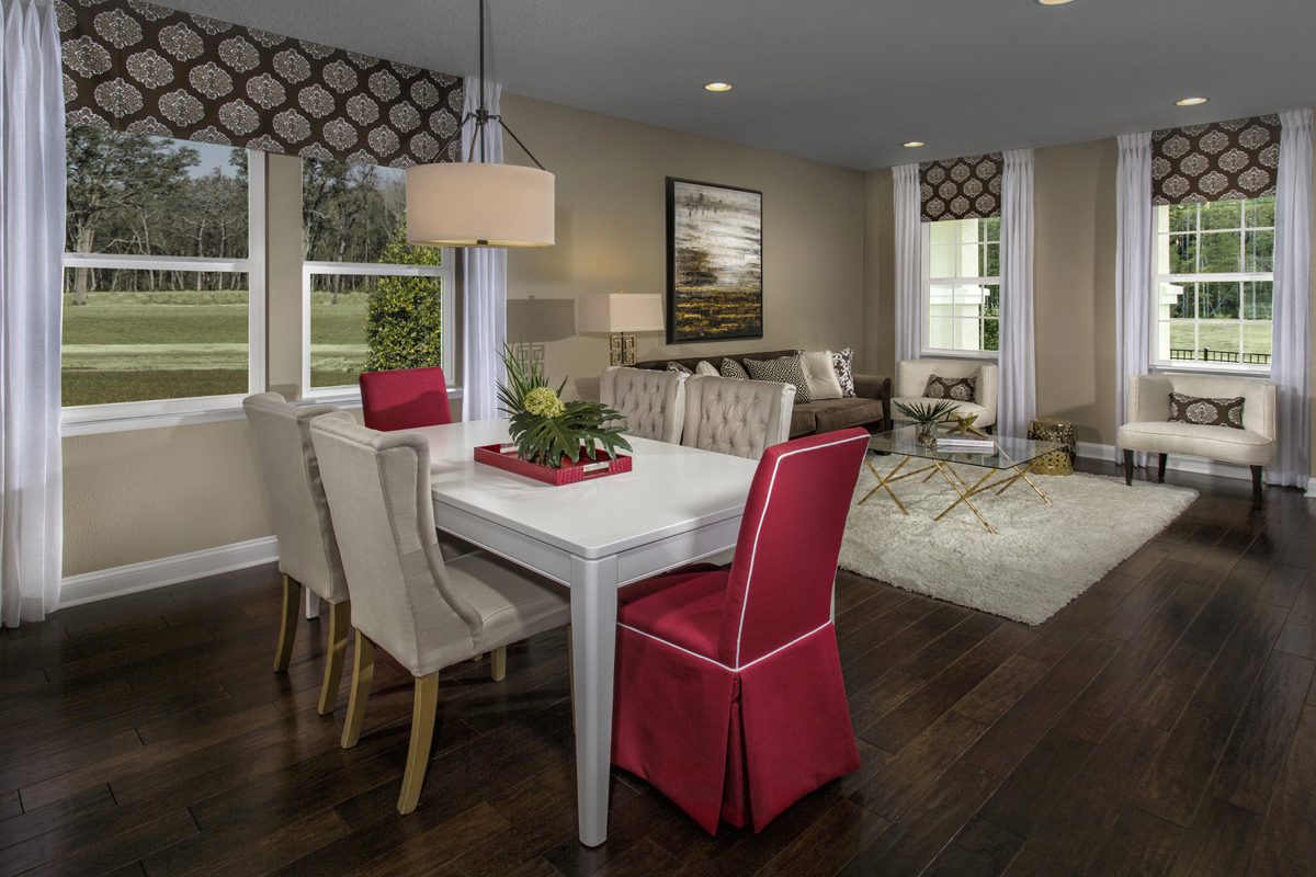 New Homes in Jacksonville, FL - Bartram Creek - Executive Series The Carrington Formal Dining