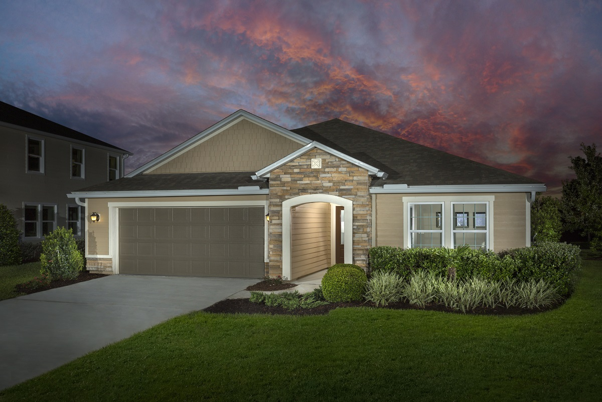 New Homes in Jacksonville, FL - Palmetto Bluff Plan 2003 as modeled at Bartram Creek - Executive Series