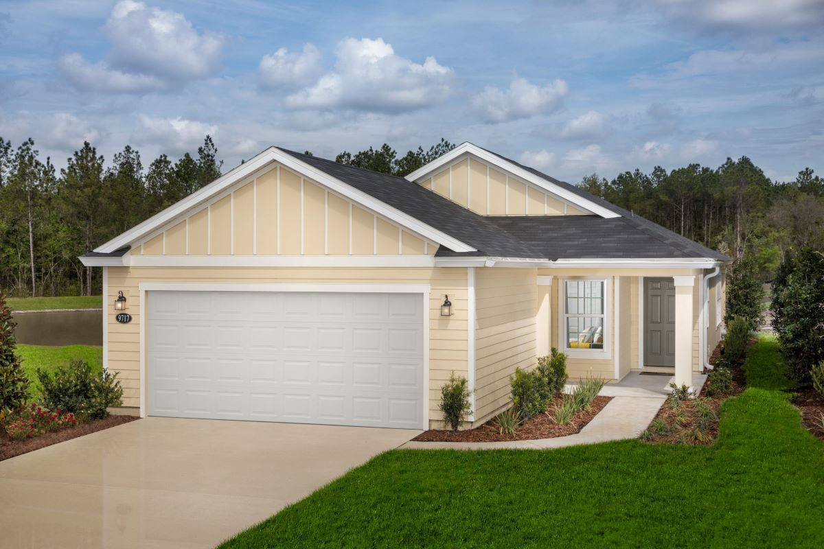 New Homes in Jacksonville, FL - Carter Landing Plan 1638 Modeled