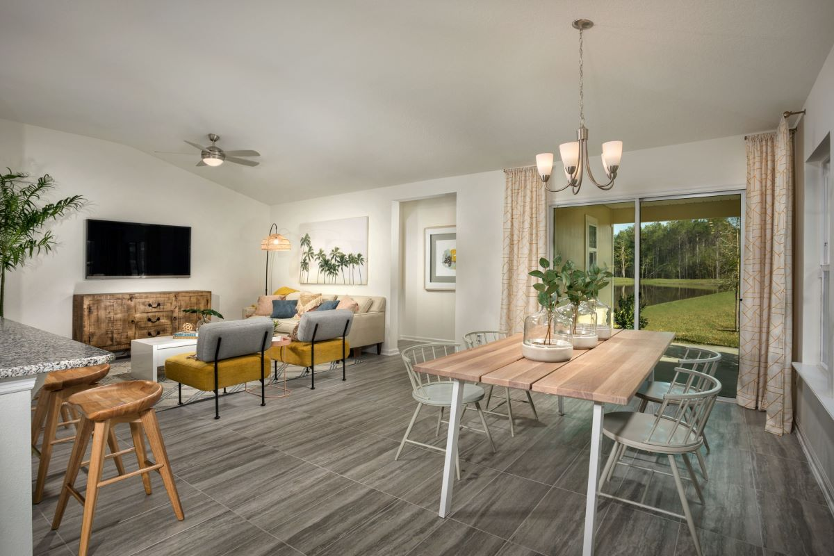 New Homes in Jacksonville, FL - Carter Landing Plan 1638 Great Room
