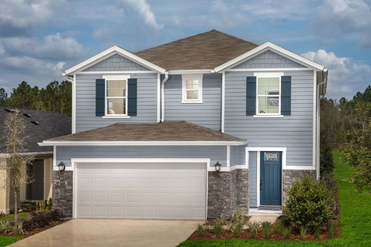 New Homes in Jacksonville, FL - Carter Landing Plan 2089 Modeled