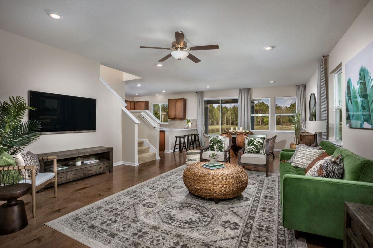 New Homes in Jacksonville, FL - Carter Landing Plan 2089 Great Room