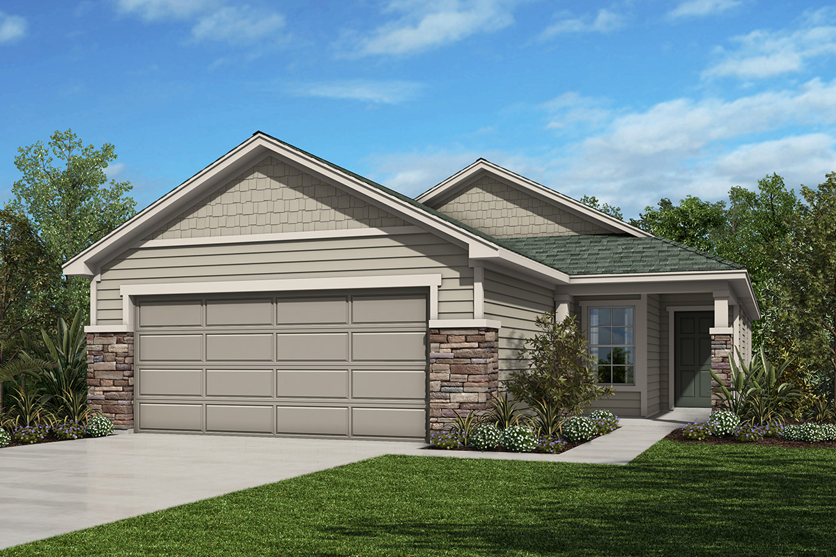 New Homes in Jacksonville, FL - Elevation N