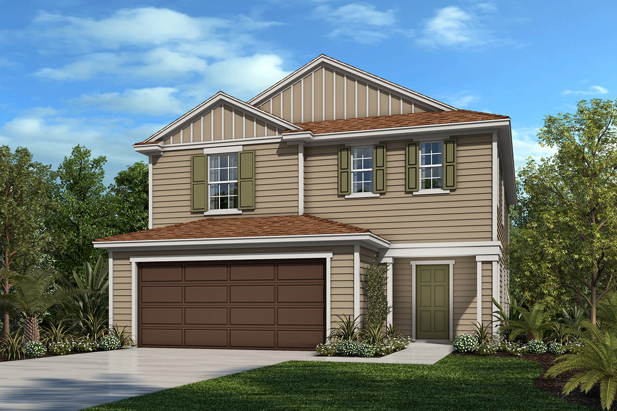 New Homes in Jacksonville, FL - Plan 2089