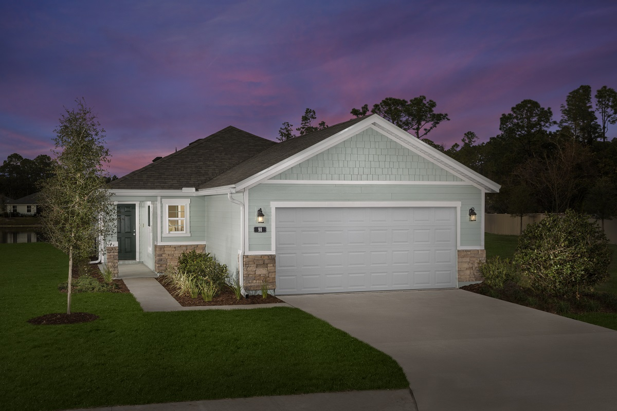 New Homes in St. Augustine, FL - The Darby Modeled