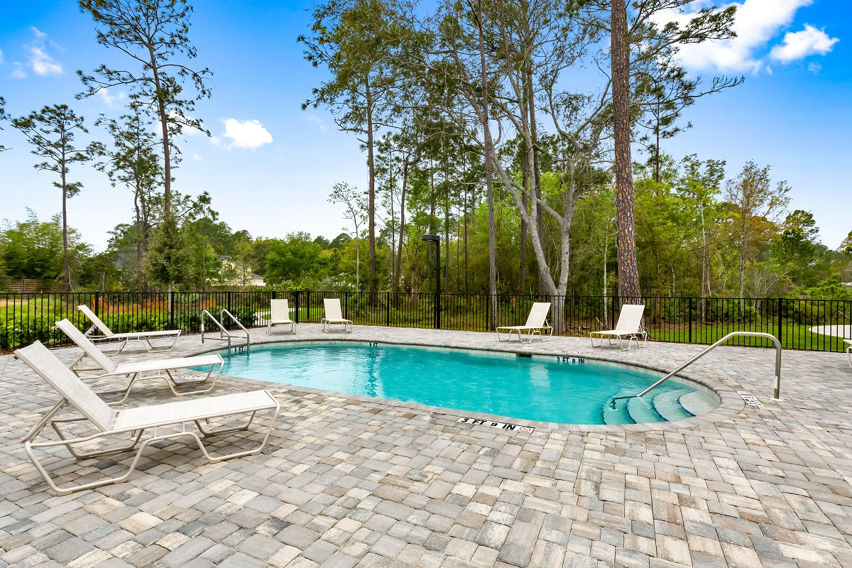 New Homes in St. Augustine, FL - Castine Cove Community Pool