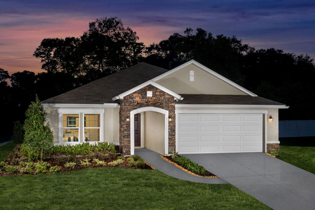 KB model home in Jacksonville, FL