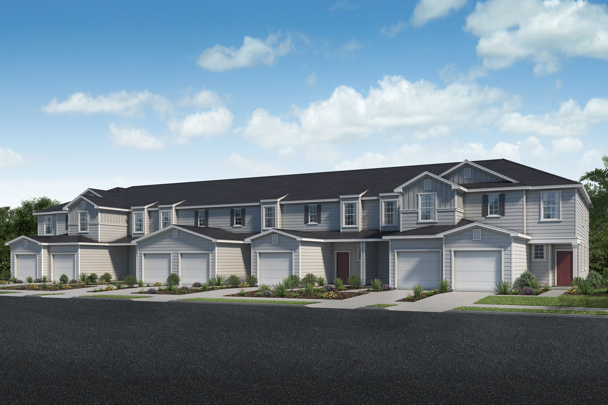 New KB quick-move-in homes available at Flagler Cove in Jacksonville, FL.  is one of many quick-move-in homes to choose from.