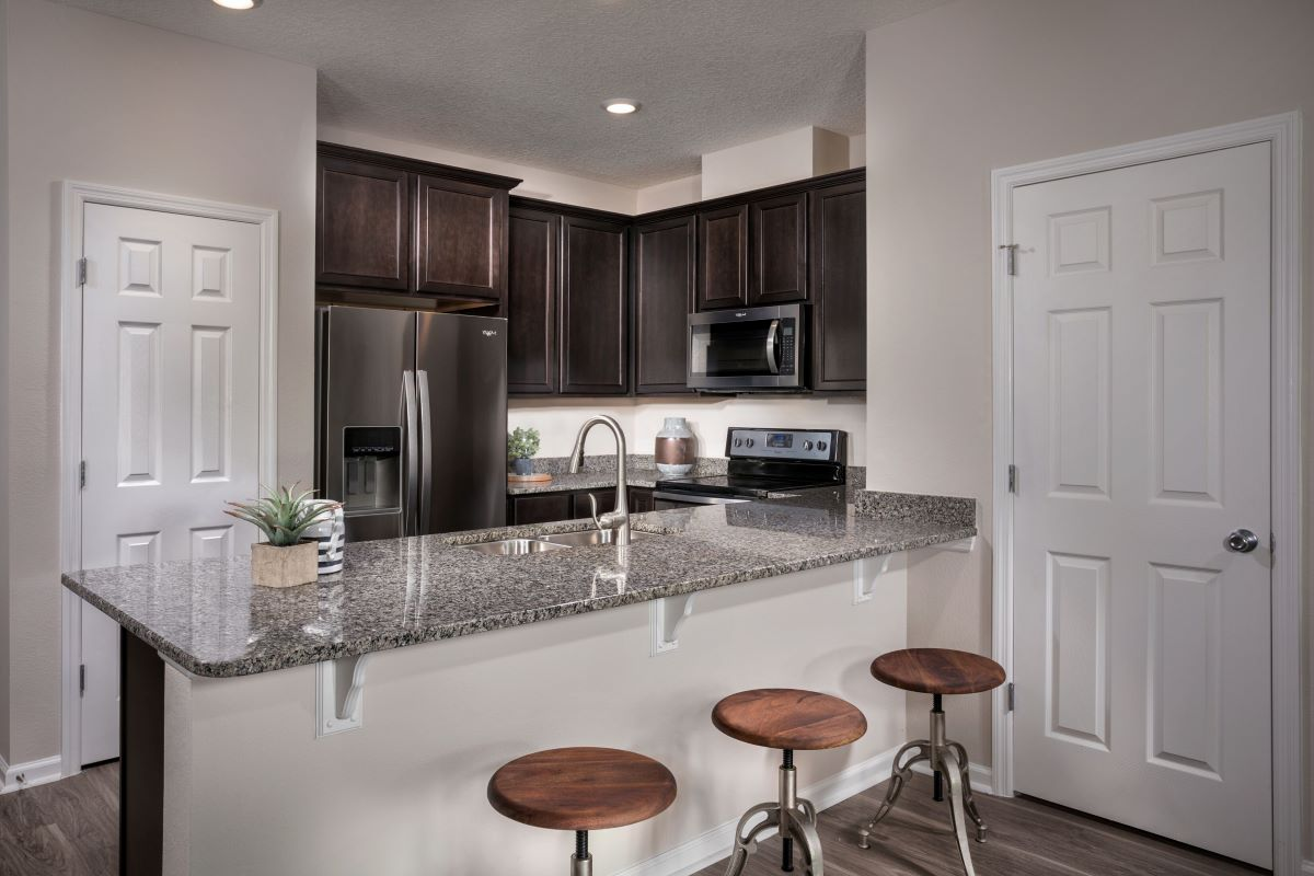 New Homes in Jacksonville, FL - Flagler Cove The Emery Kitchen
