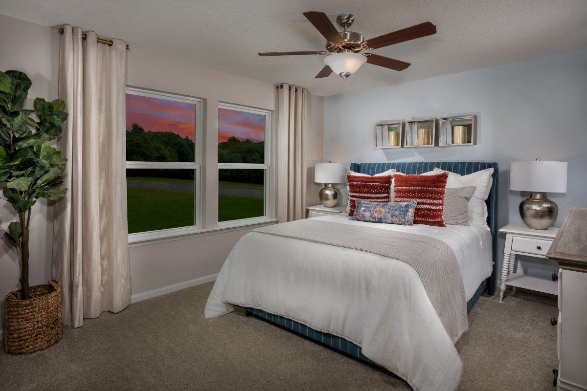 New Homes in Jacksonville, FL - Flagler Cove The Emery Master Bedroom