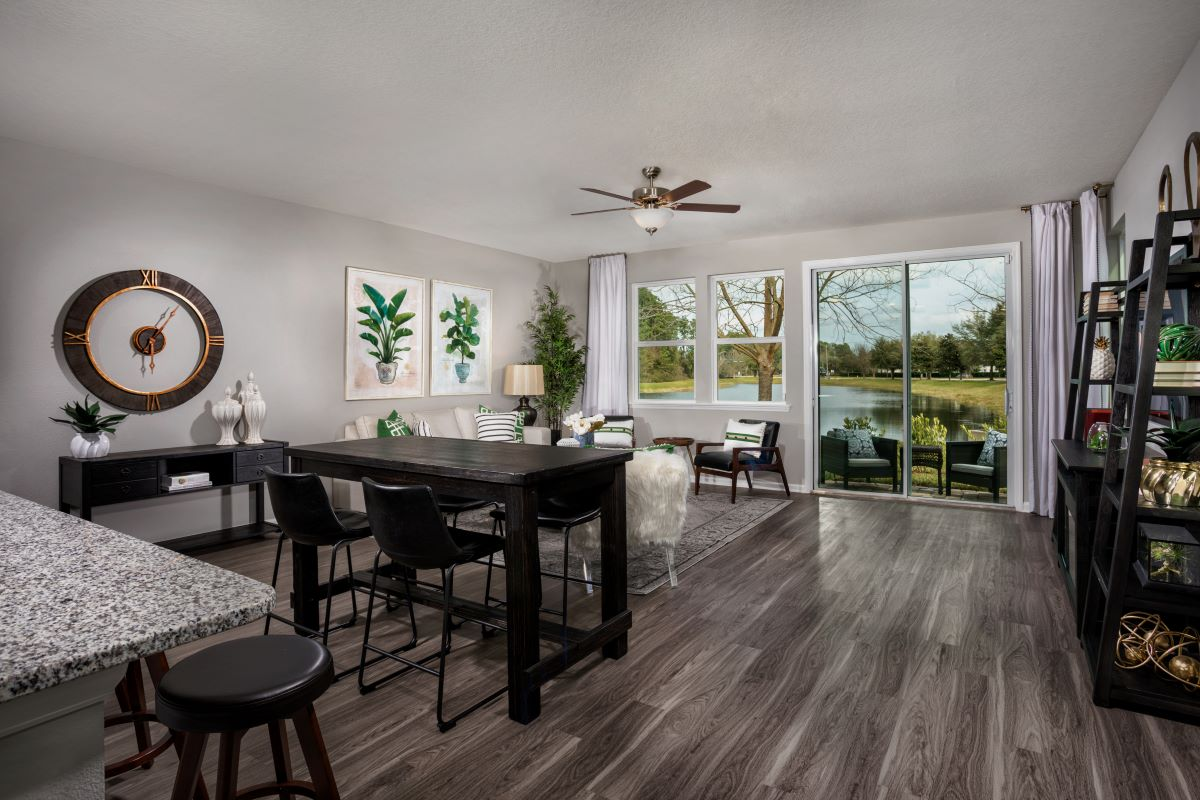 New Homes in Jacksonville, FL - Flagler Cove The Pearce Greatroom