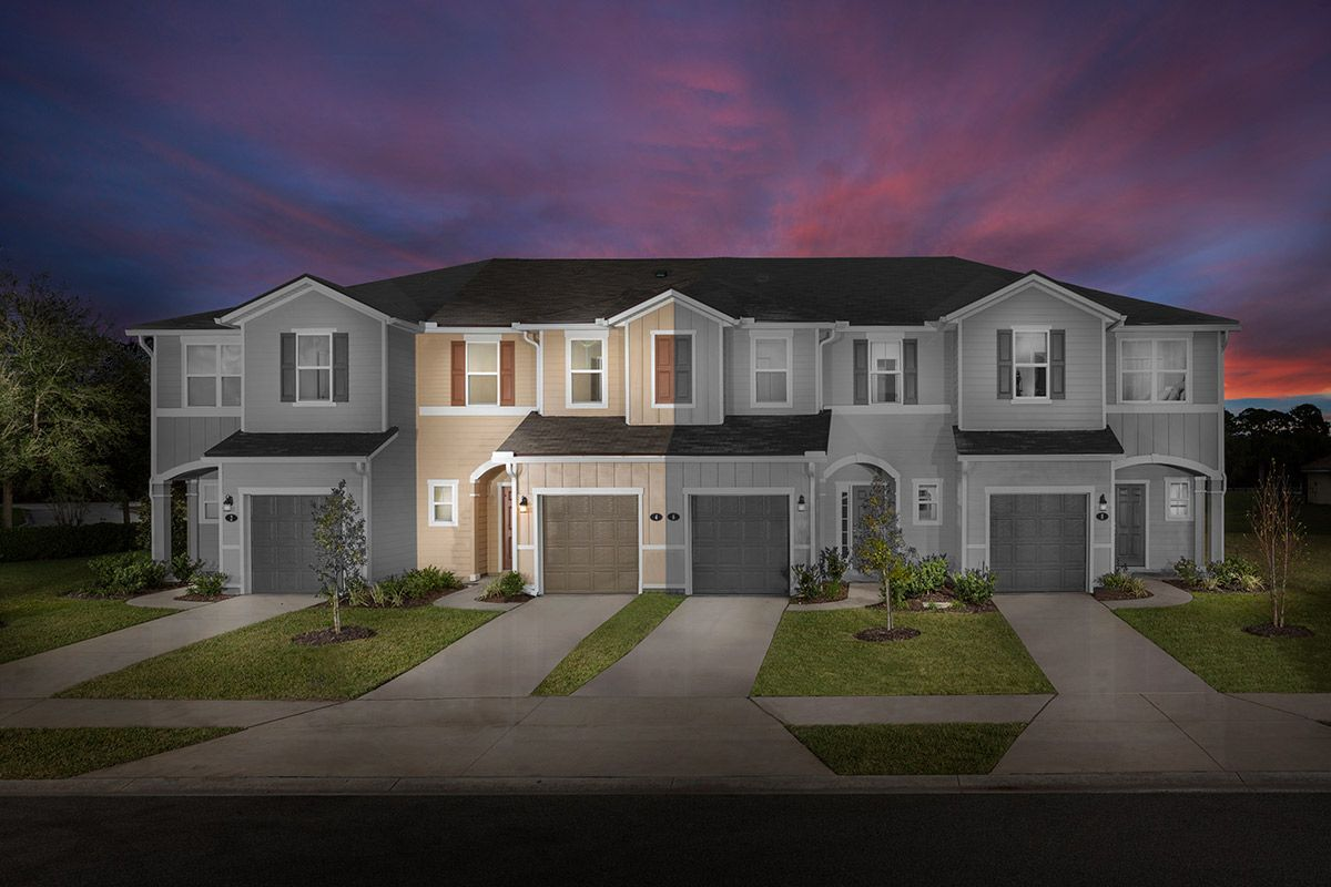 New Homes in Ormond Beach, FL - Gardens at Addison Oaks The Orchid Modeled